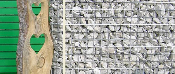 Gartengestaltung mit gabionen gabo flex steink rbe in for Gartengestaltung mit gabionen
