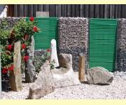 bildergalerie der gabione steink rbe gabo flex aus unsere herstellung der stein mit sitz in. Black Bedroom Furniture Sets. Home Design Ideas